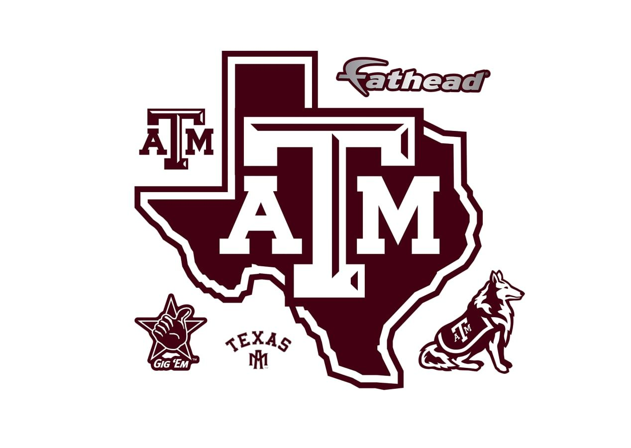 Texas A&M Aggies: Lone Star Logo.