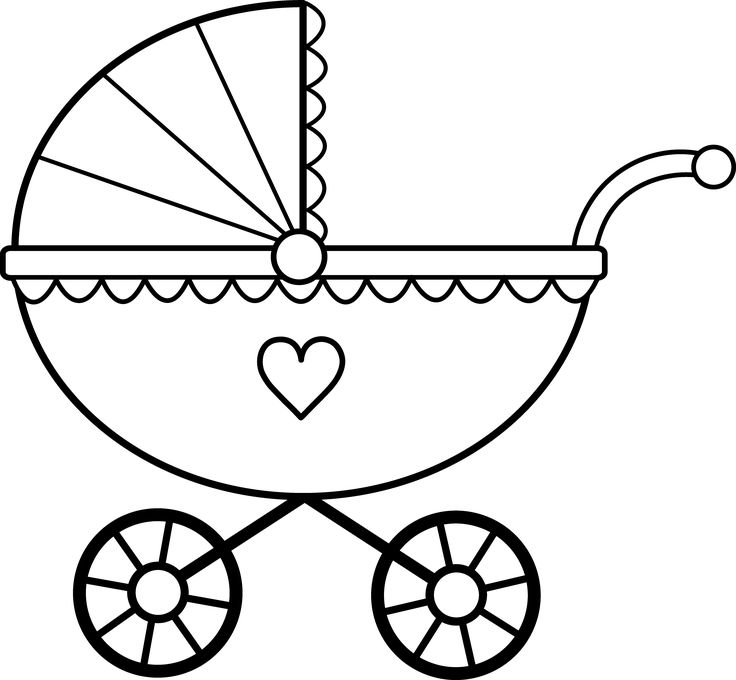 Lone stroller clipart #9