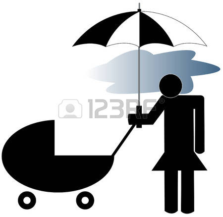 Lone Parent Stock Vector Illustration And Royalty Free Lone Parent.