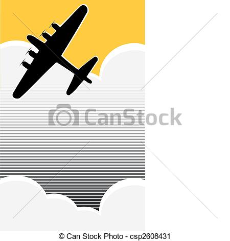 Vector Clip Art of Lone Bomber.