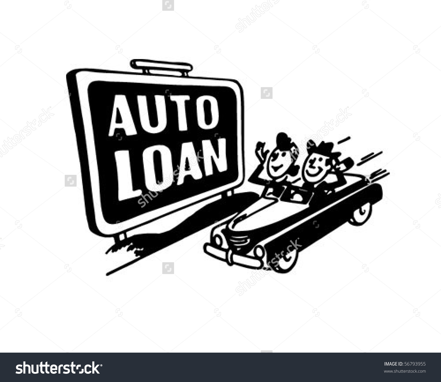 Car Loan Clipart.