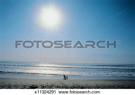 Stock Photography of Lonely Beach x11324291.
