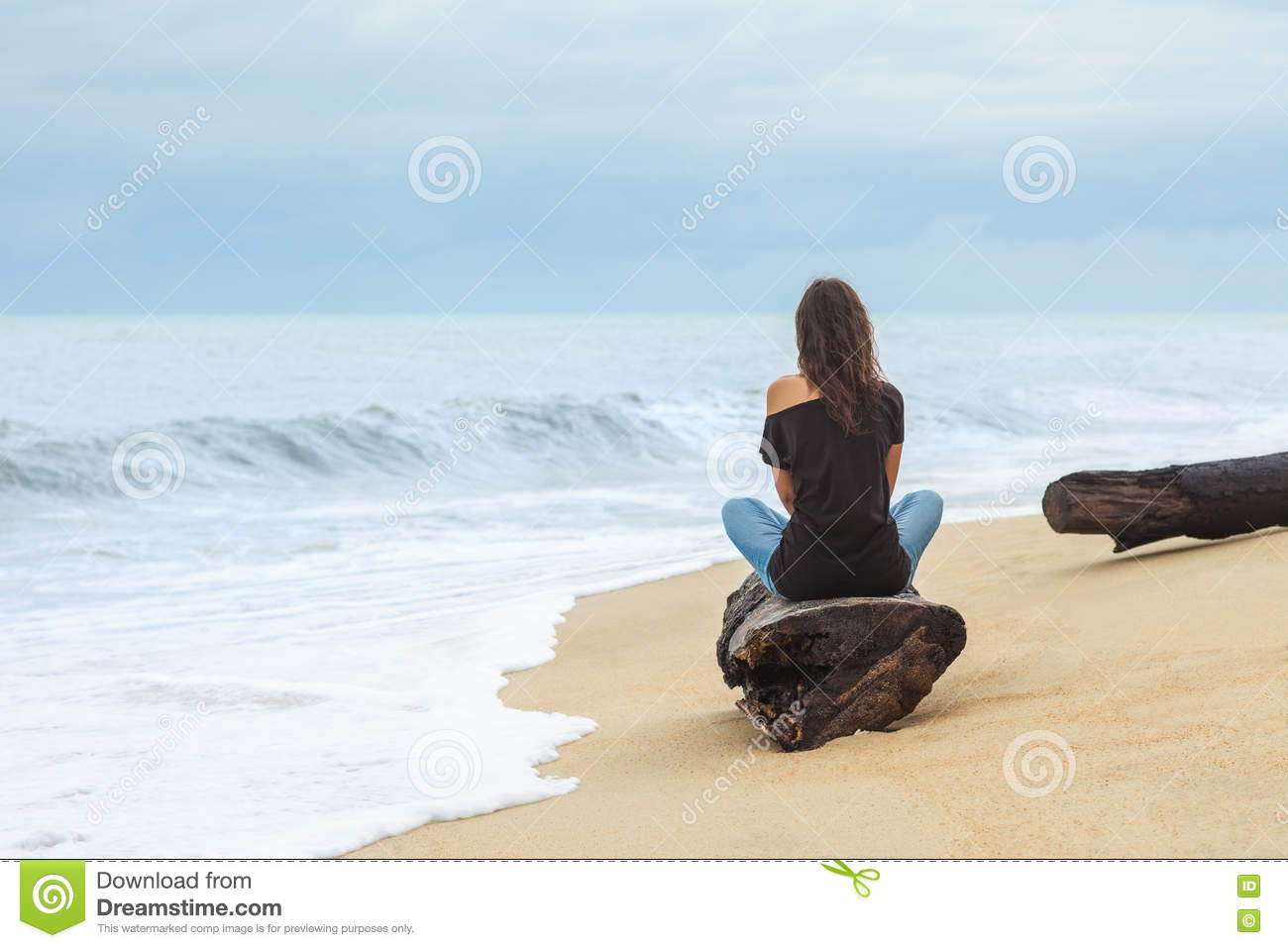 Lonely Tropical Sandy Island Clip Art Royalty Free Stock Images.