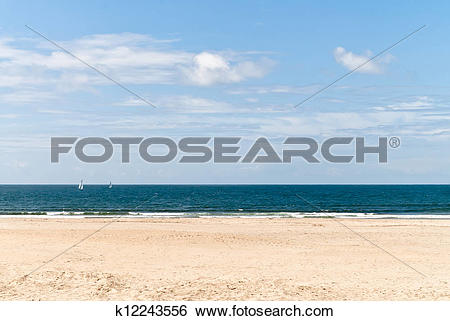 Stock Images of Lonely beach k12243556.
