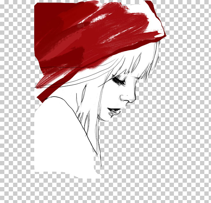 Little Red Riding Hood YouTube Drawing Red Hood Sketch.