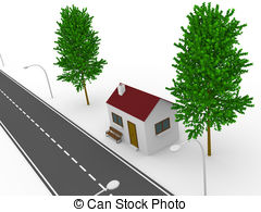 Lonely house Illustrations and Clip Art. 536 Lonely house royalty.