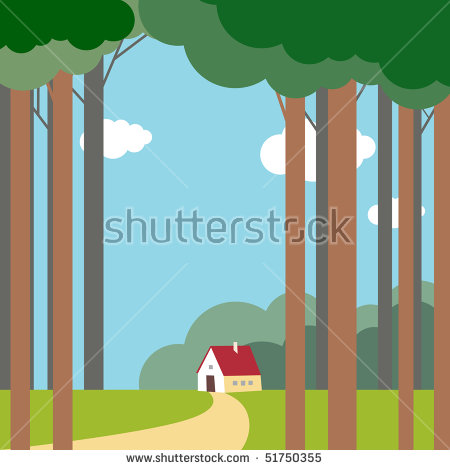Lonely House Stock Photos, Royalty.
