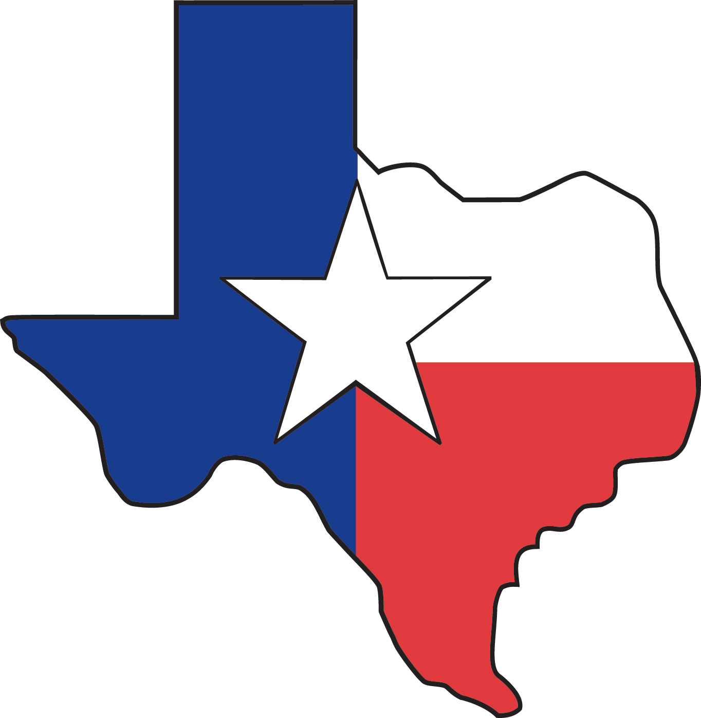 Lone Star Clipart.