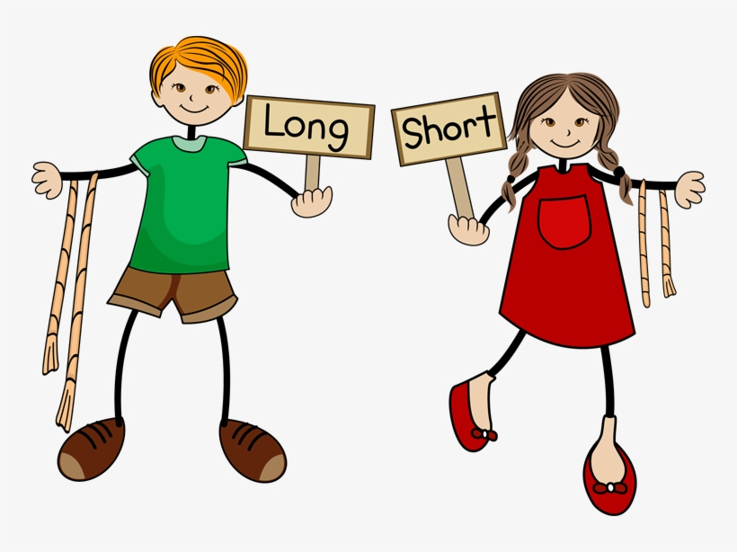 Long And Short Clipart.