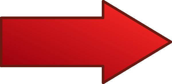 Long Red Arrow Clip Art at Clker.com.