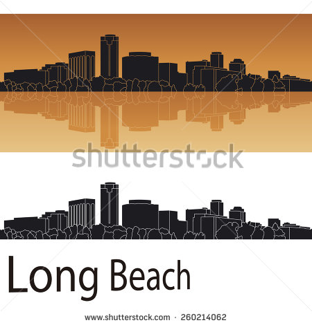 Long beach clipart.