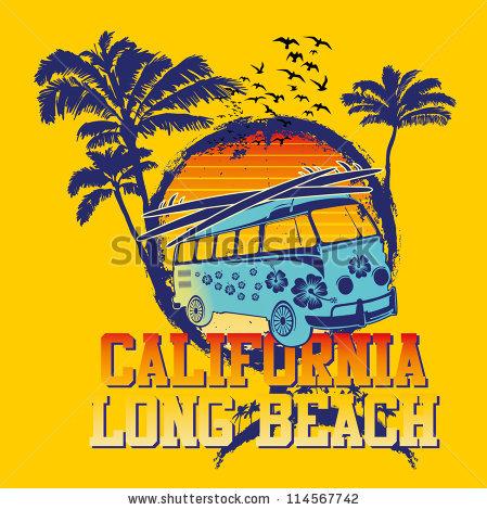 Long Beach California Stock Images, Royalty.