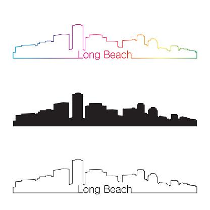 Long Beach Clip Art, Vector Images & Illustrations.
