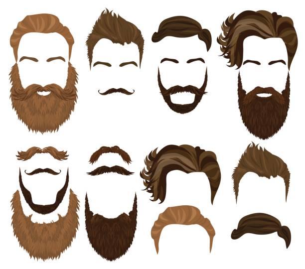 Best Long Beard Illustrations, Royalty.
