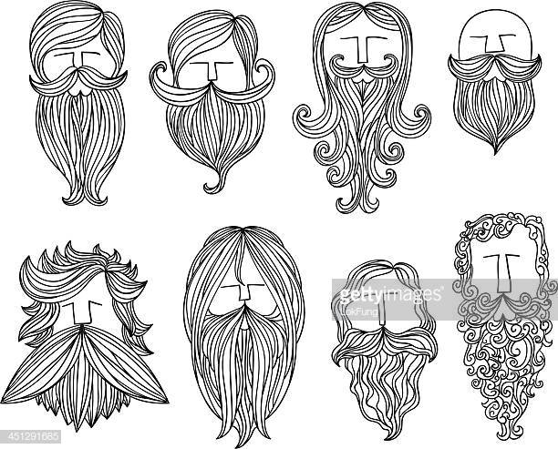 60 Top Beard Stock Illustrations, Clip art, Cartoons.