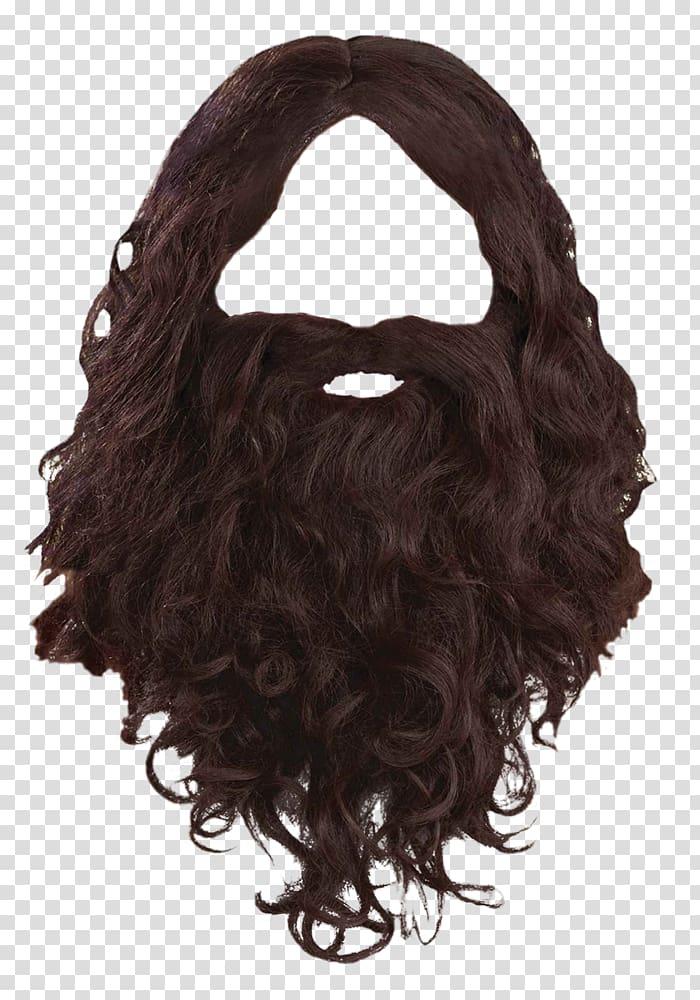 Black wig and beard, Beard Wig Facial hair Moustache, Beard.