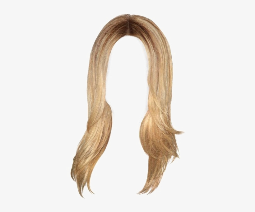 Long Blonde Hair Png.