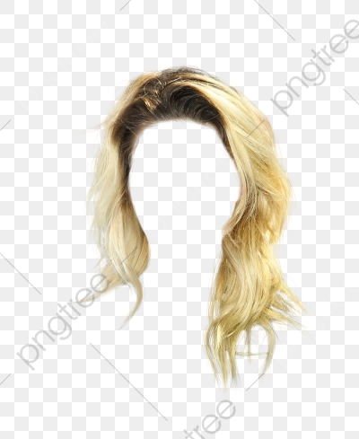 Western Style Short Blonde Hair Clips To Pull Free, Western.