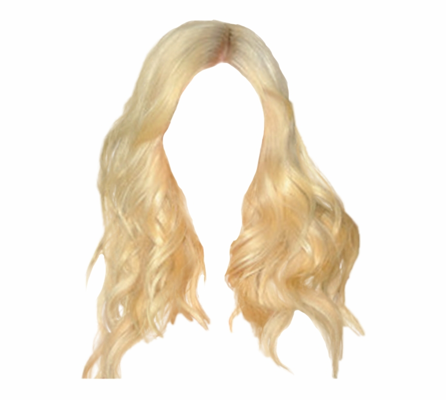 Long Blonde Hair Png , Png Download.
