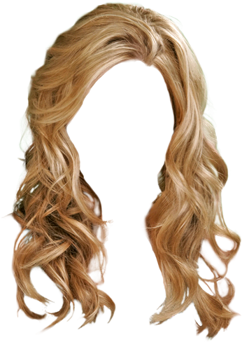 HD Blonde Hair Transparent Background , Free Unlimited.