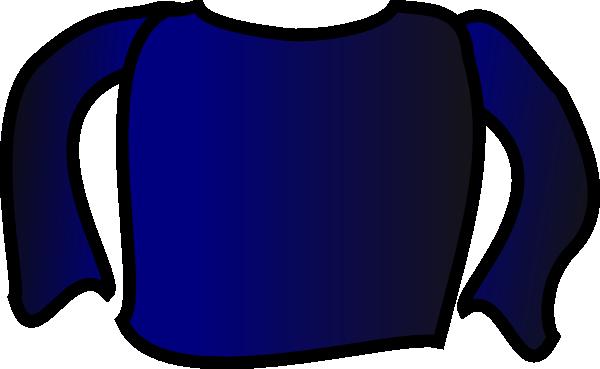 Blue Long Sleeve Shirt Clip Art at Clker.com.