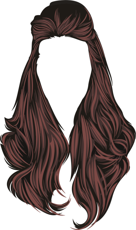 Wig,Neck,Brown Hair PNG Clipart.