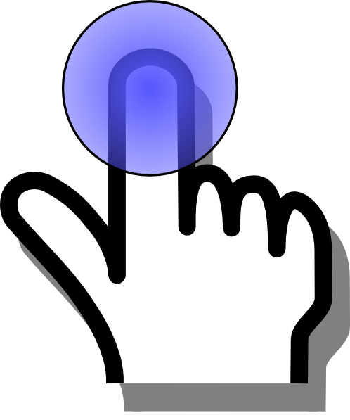 Finger Long Click Clip Art at Clker.com.