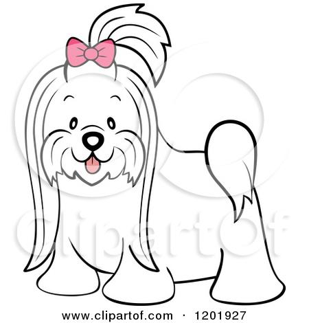Long hair animal clipart - Clipground