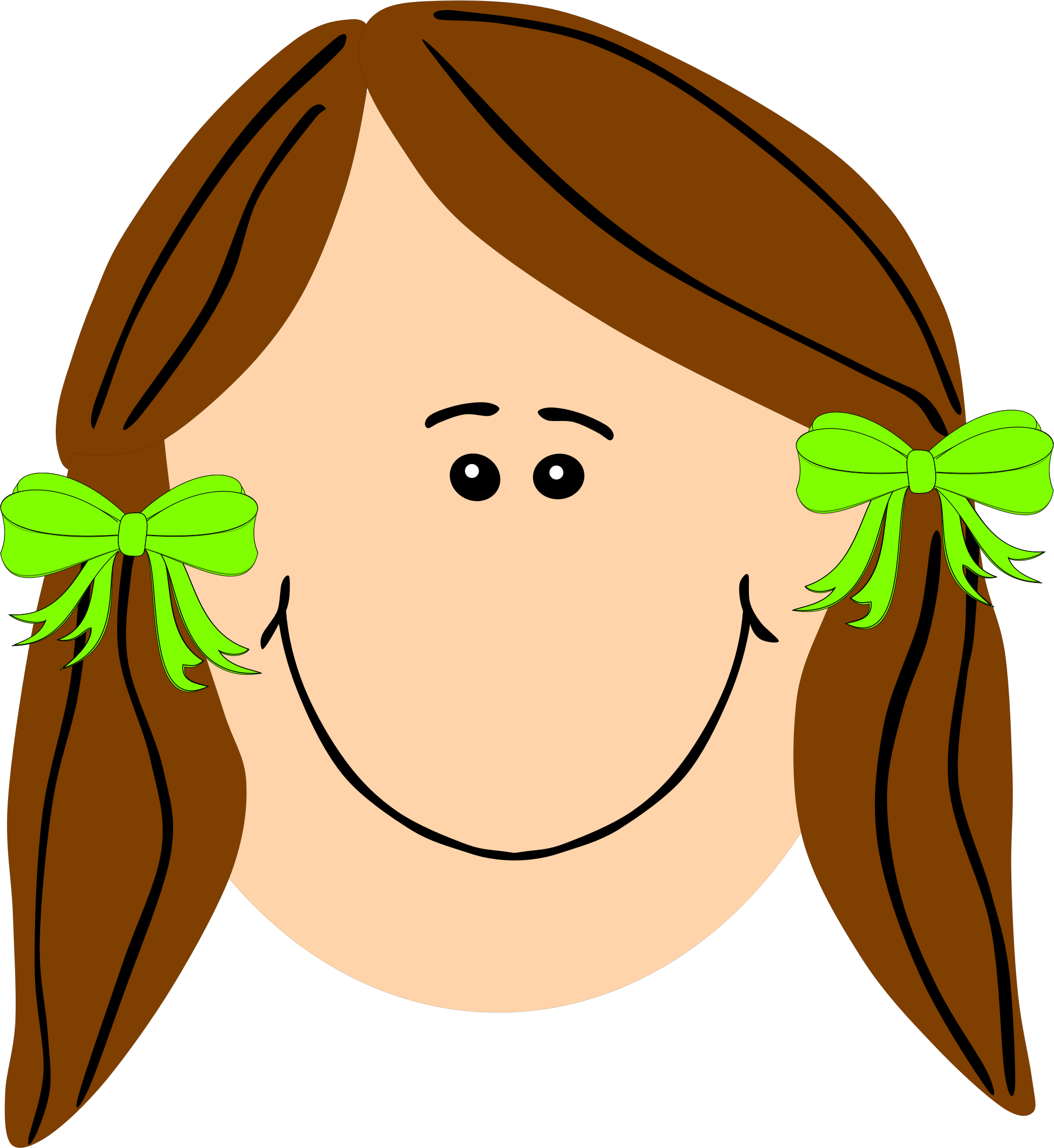 Long hair clip art clipart images gallery for free download.