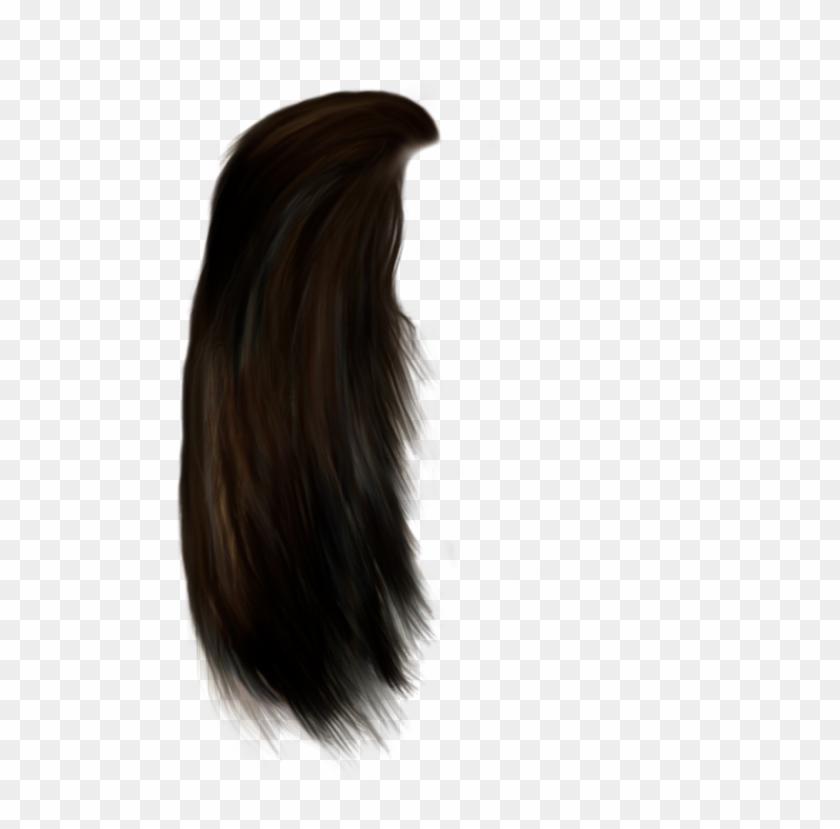 Beautiful Brown Darkbrown Red Wig Hair Longhair.