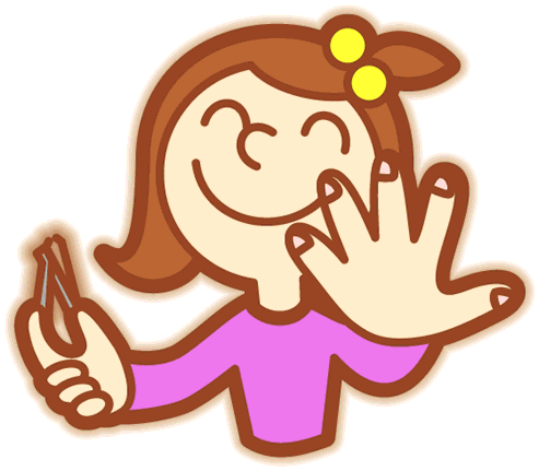 Download Hair Clipart Tied Back.