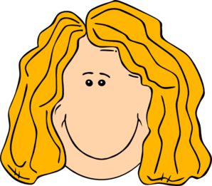 Clip Art Girl With Long Hair Clipart.