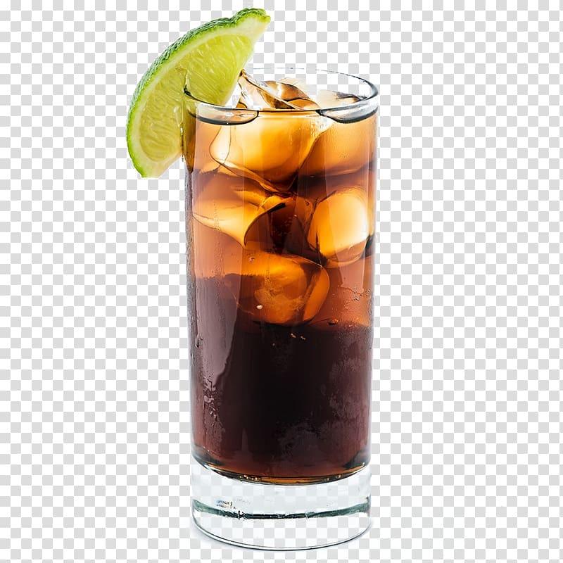 Rum and Coke Long Island Iced Tea Cocktail Cuban cuisine.