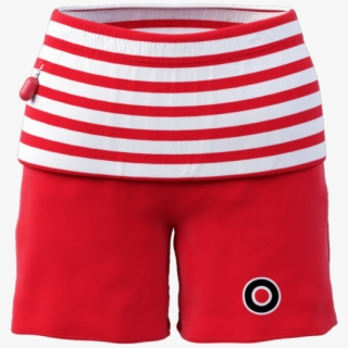 Hanna Andersson Long John Pajamas Red White Stripe.