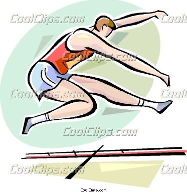 Long Jump Clip Art Long jump.
