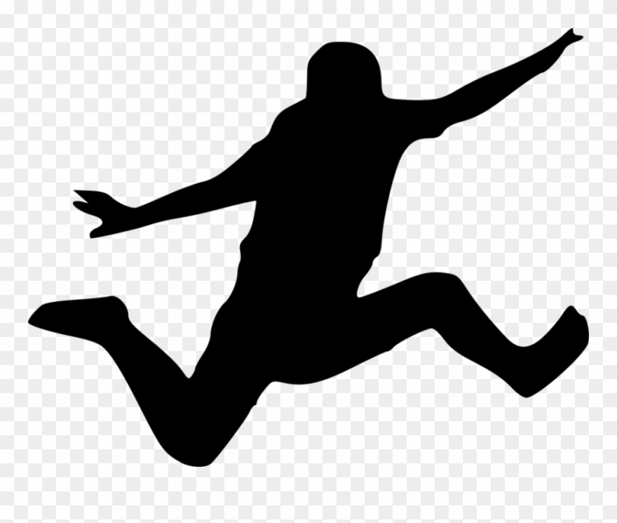 Clipart Sports Long Jump.