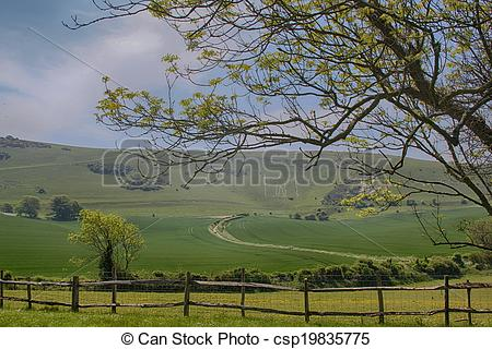 Picture of Long Man of Wilmington.