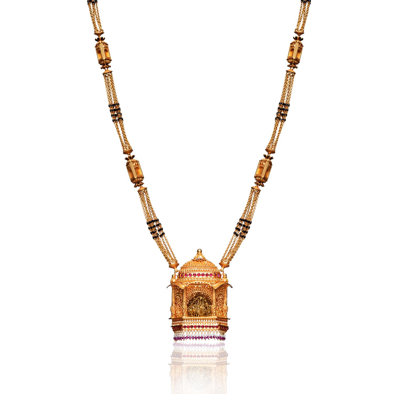 Karnapriya 22KT Gold PNG Mangalsutra.