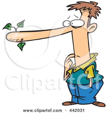 Long Nose Clipart.