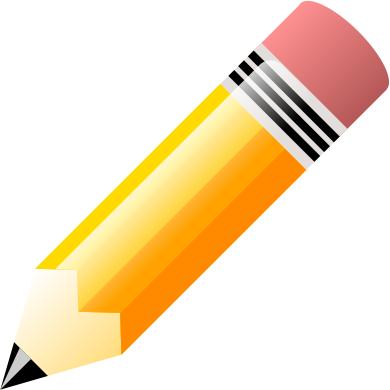 Long Pencil Clipart.
