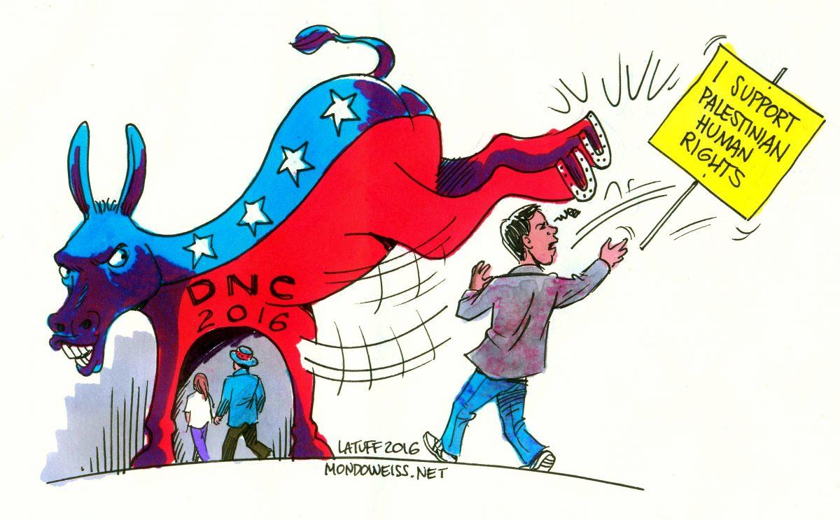 Democrats big tent shrinking as Clinton ties up nomination.