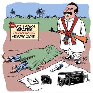 Sri Lanka starts another war on terror to evade probe.