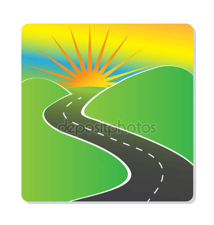 Long road ahead Stock Vectors, Royalty Free Long road ahead.