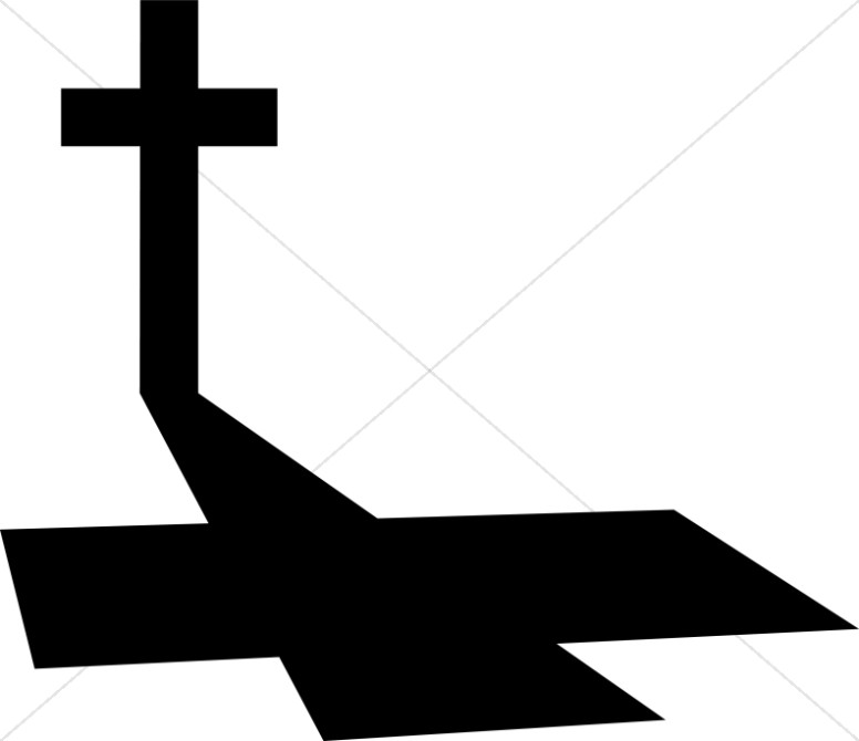 Long Shadow on Good Friday Cross.