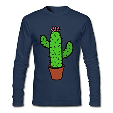 Amazon.com: LSNQCPM Men's Clipart Cactuses Long.