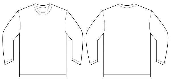 White Long Sleeve T.