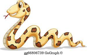 Long Snake Clip Art.