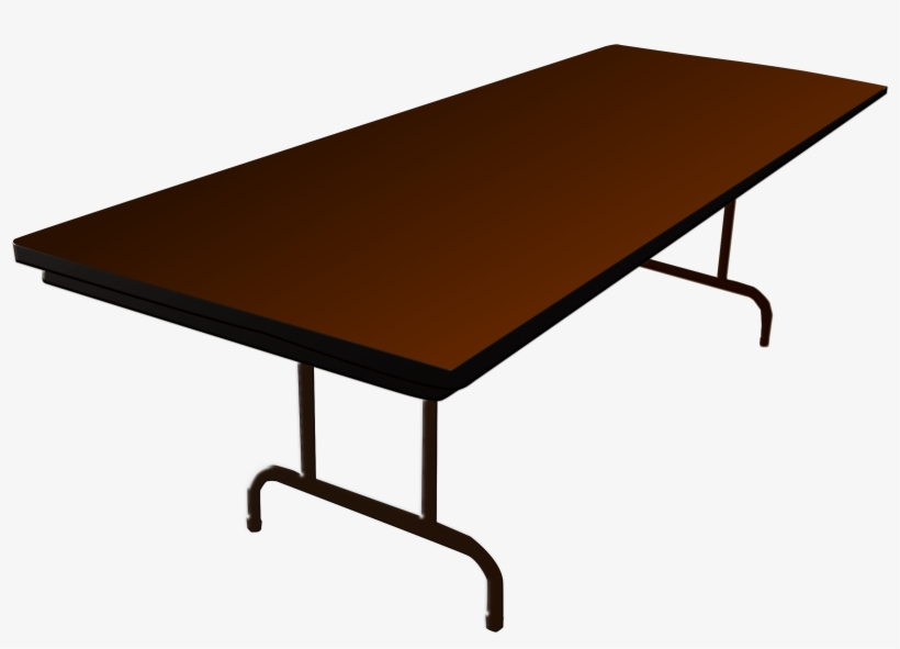 Desk Clipart Long Table.