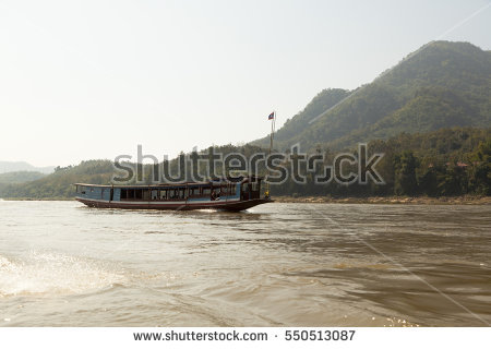 Mekong River Cruise Stock Photos, Royalty.