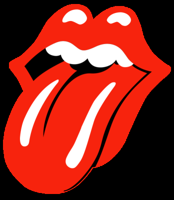 Red tongue clipart.